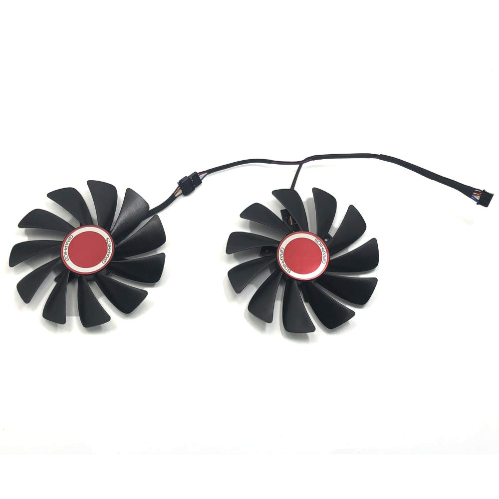 InRobert FDC10U12S9-C 95mm Video Card Cooler Fan Replacement for XFX RX 590 Fatboy,RX 580 GTS Graphic Card by inRobert