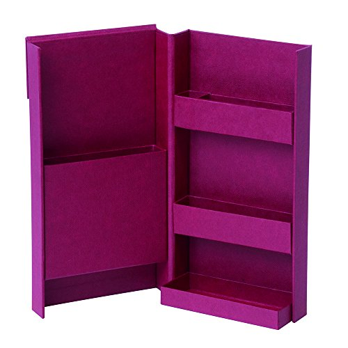 Little Red Tool Box - Nakabayashi Lifestyle Tool Wall Box (S) Wine Red 91212