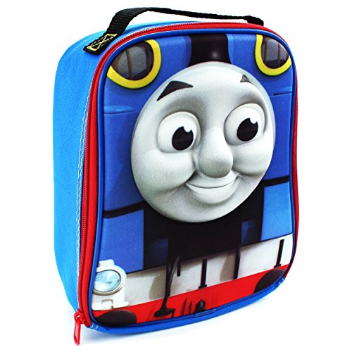 Thomas Food - Thomas the Tank Engine Train Soft Lunch Box (3D Thomas Blue)
