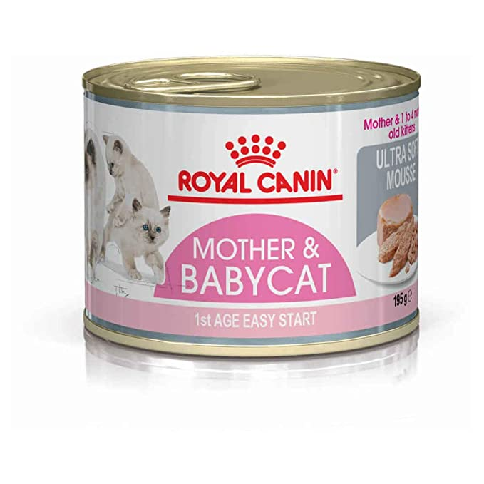 Royal Canin - Royal Canin Feline Babycat Instinctive Mousse - 1374 - 12 x 195 Grs