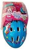 : My Little Pony Child's Bicycle Helmet, Bell, and Elbow Pad Fun Pack
