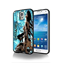 Ghost in the shell Cartoon Manga Game Gio7 Case Cover Protection for Note 8 Black Silicone