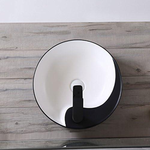 カウンター盆地バスルームホームバルコニー洗面シンク盆地陶芸盆地の上ラウンド P3/18