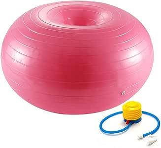 Donut Ball Pelota De Yoga Con Bomba Bola De Ejercicio De ...