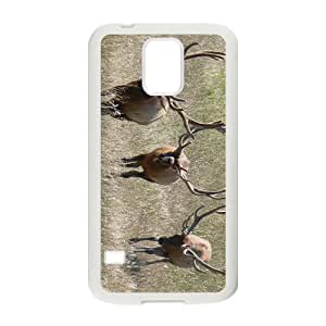 Deer Herd Hight Quality Plastic Case for Samsung Galaxy S5 by mcsharks
