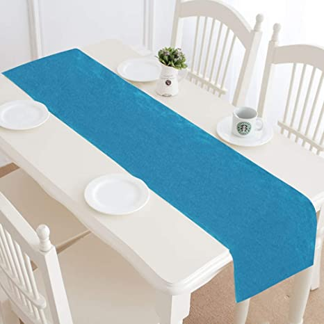 Centerpiece Table Runner Bright Wavy Surface Undersea Scenery Restaurant Table Runners Outdoor Table Runner 16x72 Inch For Dinner Parties Events Decor Amazon Ca Home Kitchen