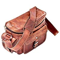 TUZECH Real Leather Vintage Plus Modern Leather Camera DSLR And Regular Use Bag- Fits 13 inches …