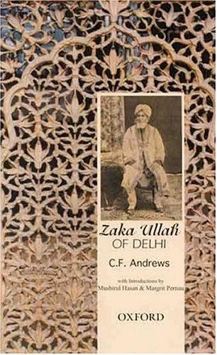 Zaka Ullah of Delhi by Oxford University Press