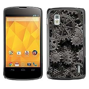 Print Motif Coque de protection Case Cover // V00002762 de metal oxidado Muchos // LG Nexus 4 E960