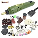 For Dremmel Mini Electric Drill Rotary Tool With Accessories Set DIY Hand Tool Kit For Wood Jade Stone Small Crafts Cutting Drilling Grinding Sculpture