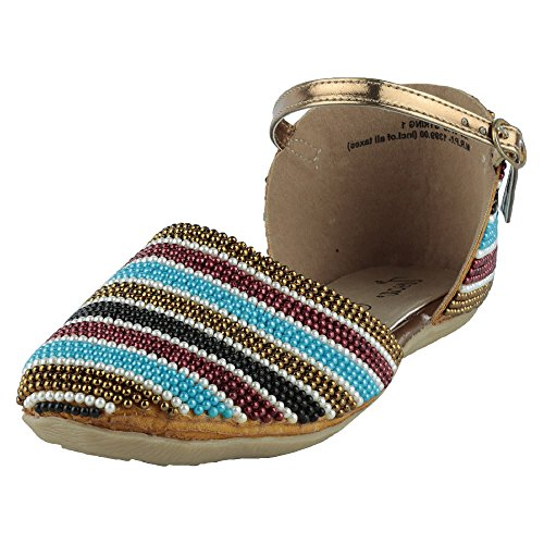 Tosca Women's Multi-Coloured Synthetic Sandals (450077444003) – 5 UK