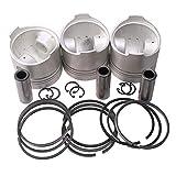 zt truck parts Piston & Piston Ring Set STD 76mm for Kubota D1005 Engine