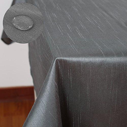 Deconovo Tischdecke Wasserabweisend 130x220
