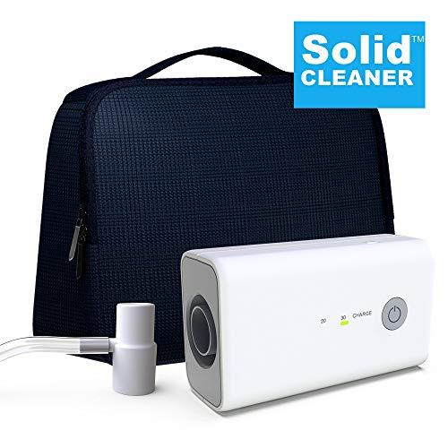 SolidCLEANER CPAP Cleaner and Sanitizer Bundle Includes T Adapter and Heated Hose Adapters