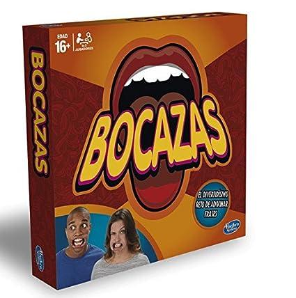 Hasbro Gaming Bocazas Juego De Mesa C2018105 Amazon Es