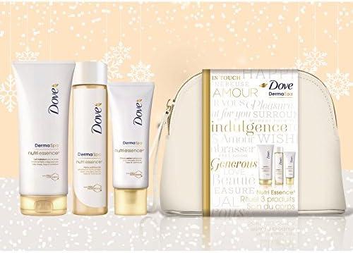 Dove Neceser de regalo Dermaspa Nutri Essence3 para mujer: Amazon.es: Belleza