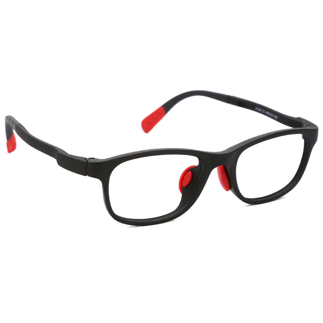131a28eaf4 Amazon.com  modesoda Kids Non-Prescription Eyeglasses Frame