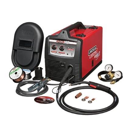 lincoln electric pro mig 140 amp welder k2480 1