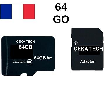 Tarjeta de Memoria Xiaomi Mi A2, CEKA TECH® Micro-SD 64GB ...