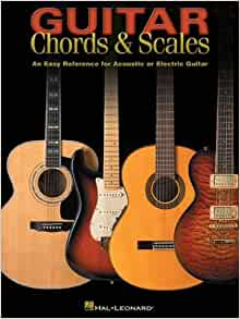 guitar chords scales an easy reference for acoustic or electric guitar hal leonard corp. Black Bedroom Furniture Sets. Home Design Ideas