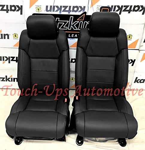 2014-2015-2016-2017-2018-2019 Toyota Tundra CrewMax KATZKIN Black Leather Seat Covers