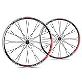 ZeroLite ruta Comp Wheel Set, 700C, negro