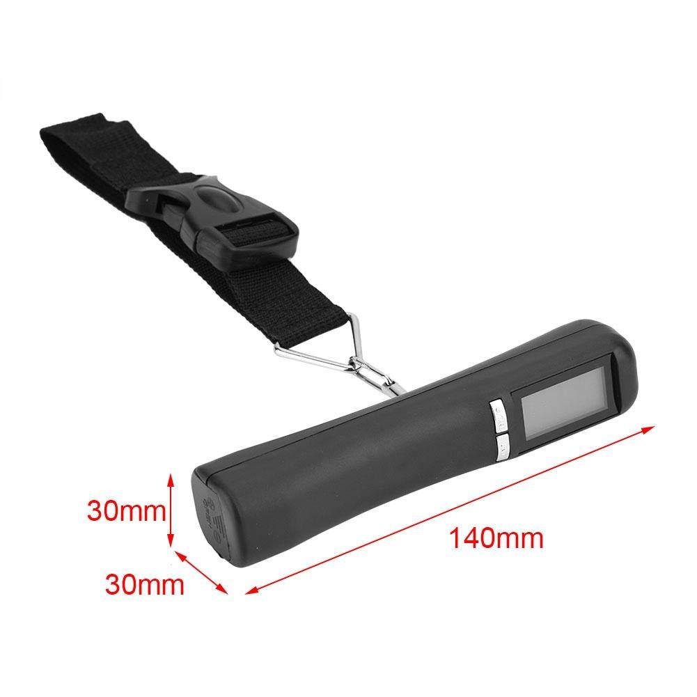 Poids Maximum 40KG Balance de Bagages Portable Balance Electronique P/èse Valise de Voyage Balance Num/érique