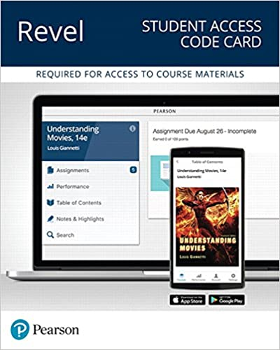 REVEL for Understanding Movies - Access Card (14th Edition)
