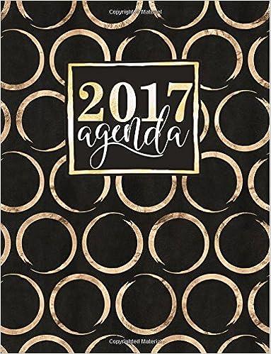 Agenda: Gray & Gold Agenda 2017 Settimanale (Serie ...