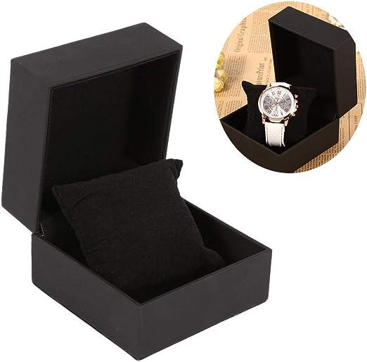 Estuche de Almacenamiento para Relojes, Caja de exhibición de Relojes para Joyas y Pendientes y Pulsera para Regalo: Amazon.es: Hogar