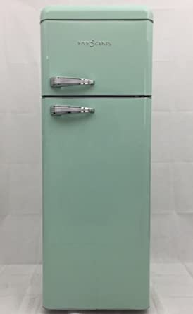 Kühlschrank retro mint  FIVE5Cents G215 / SchaubLorenz / Kühlgefrierkombination / Mint ...