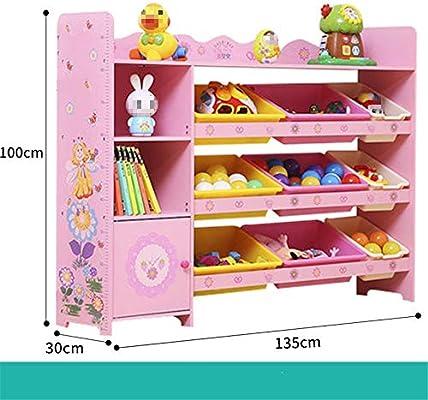 Caja de almacenamiento de juguetes Rack de almacenamiento de ...