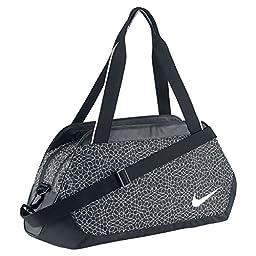 Nike Legend Club Print Black/Black/White 1 Duffel Bags