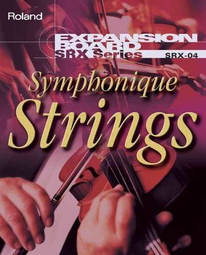 Roland sintetizador Roland CEX Studio srx-04 Wave placas de expansión Symphonique cuerdas Wave expansión Sinfónico cuerdas