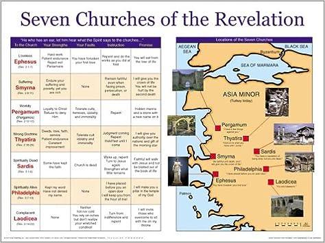 Seven churches of the revelation chart amazon com books