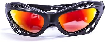 ca1648cbe08 OceanGlasses - Cumbuco - Polarized Sunglasses - Frame   Matt Black - Lens    Revo Yellow