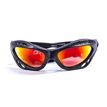 Ocean Sunglasses Cumbuco - Gafas de Sol polarizadas - Montura : Negro Mate - Lentes :