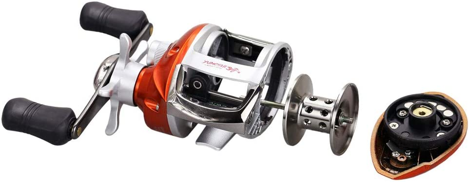 YUMUYMEY Spinning Reel Reel Leichter Angeln Outdoor Sea Fishing Area