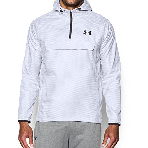 Under Armour Men's Sportstyle Anorak, White/White, ()
