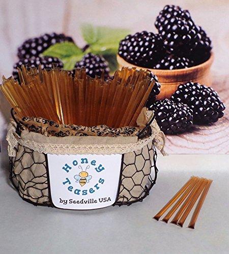 Y BLOSSOM HONEY TEASERS Natural Snack Sticks Honeystix Straws (Honeystix Straws)