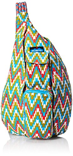 KAVU Rope Backpack, Garden Tile, One Size