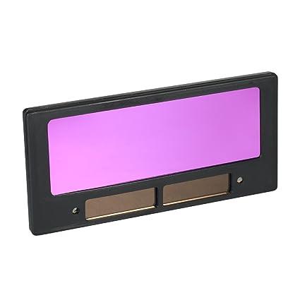 KKmoon Lente Solar Energía Automático Oscurecimiento Soldadura Casco Soldador Tapa Filtro Sombra Máscara Gafas Lente para