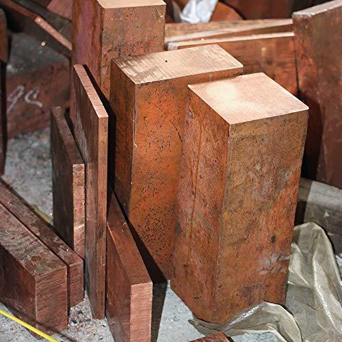 Isali 1PCS CA004 Copper Row 4mm30mm100mm Copper Stick Sell at a Loss T2 Copper Bar Copper Billet TMY Copper Block
