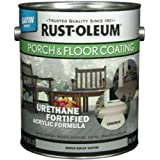 RUST-OLEUM 244054 Gallon Dove Gray Satin Porch and Floor Urethane Finish