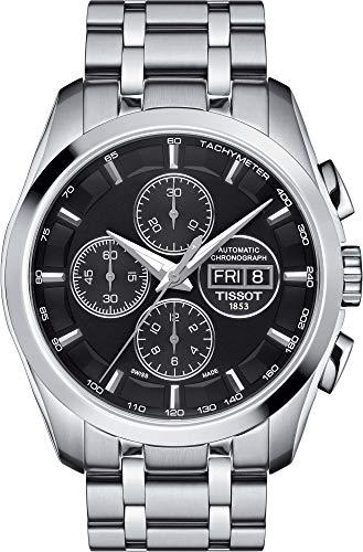 Chronograph Automatic Gents Watch - Tissot Couturier Chronograph Automatic Mens Watch T0356141105101