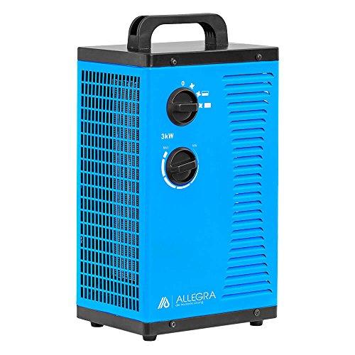 3 KW Elektroheizer Heizlüfter Heizgerät Bauheizer Zeltheizung - ALLEGRA - H32