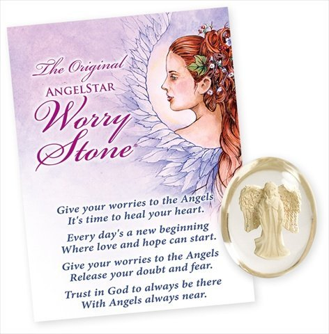 AngelStar 8718 Grace Worry Stone - Pack of 4