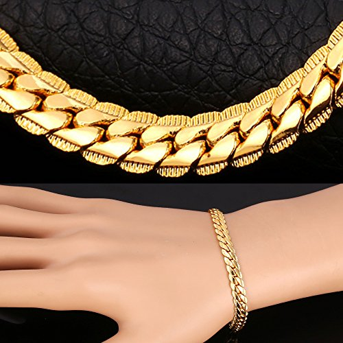 hip hop jewelry 18k gold plated bracelet necklace