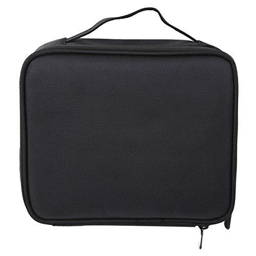 CH Women Empty Makeup Organizer Cosmetic Case Travel Large Capacity Storage Bag Suitcases - Herrera Carolina Bags