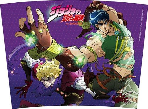 "TV anime ""JoJo's Bizarre Adventure"" tumbler ""Jonathan and Dio"" (japan import)"